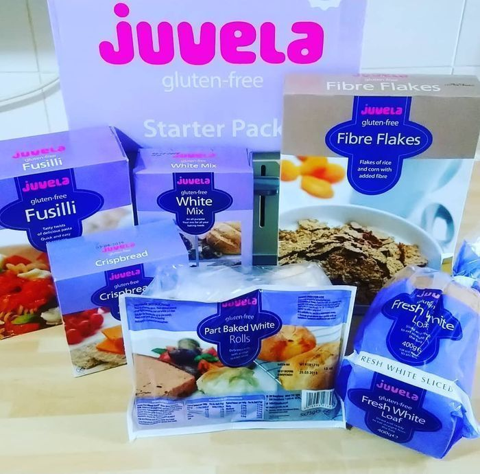 Free Juvela Gluten-Free Starter Pack for People Diagnosed with Coeliac Disease