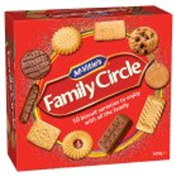 McVitie's Family Circle Biscuit Assortment Tub 620g