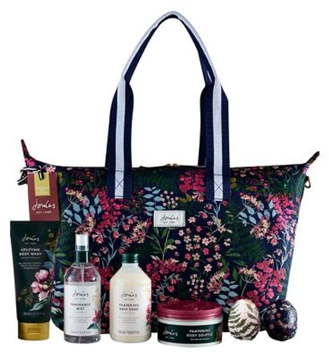 Joules Ladies Weekend Bag with Toiletries Gift Set