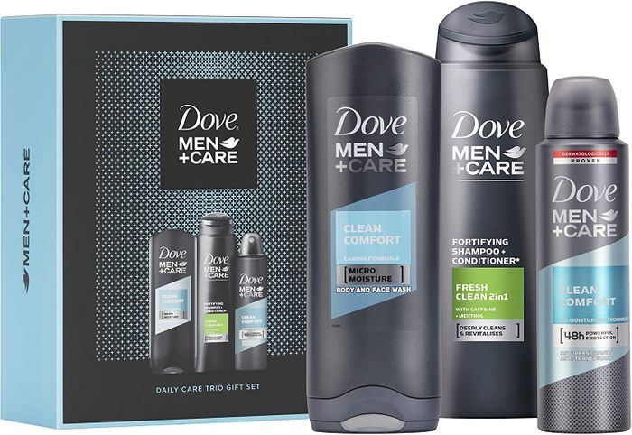 Dove Men + Care Trio Christmas Gifts Set - PRICE DROP