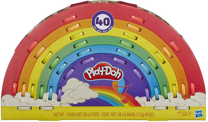 Cheap Play-Doh Ultimate Rainbow 40 Pack with 50% Discount!