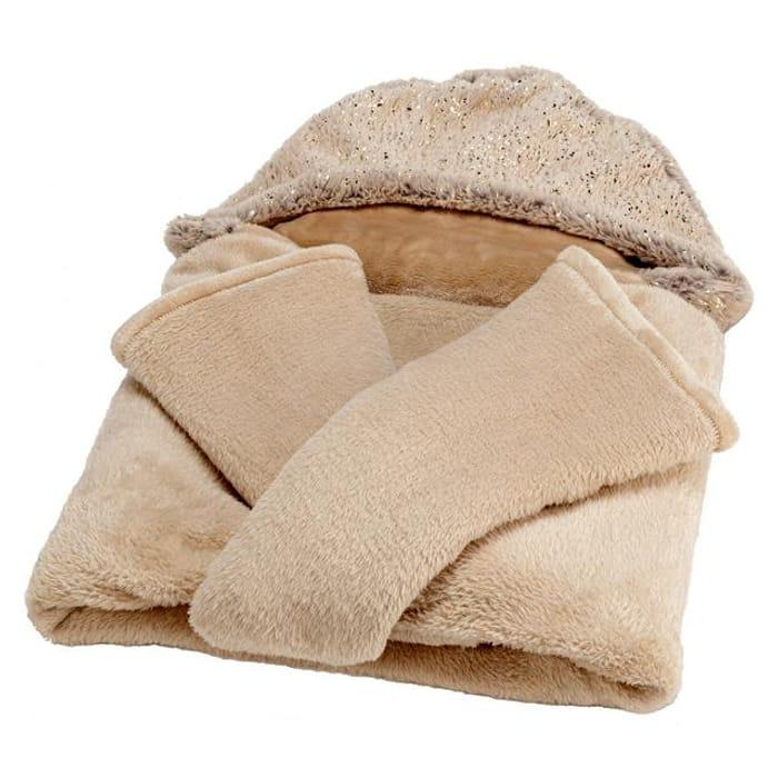Wellbeing Faux Fur Snuggle Blanket