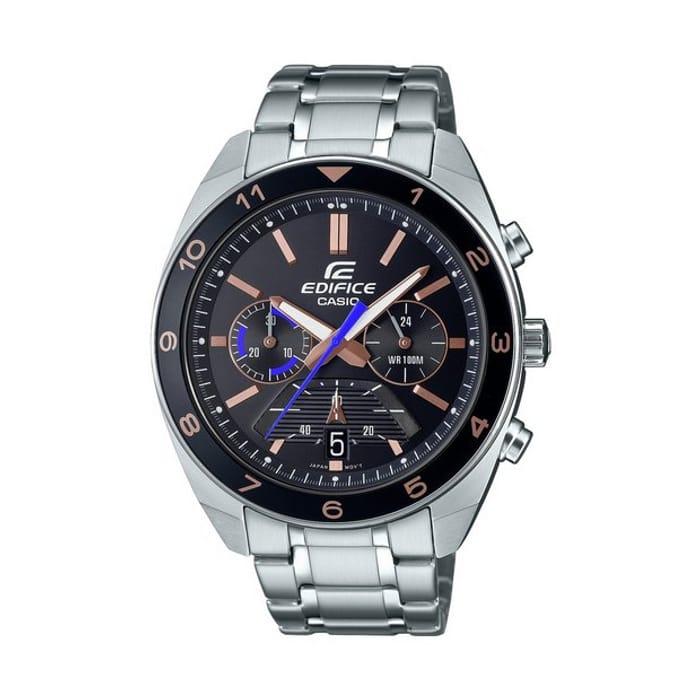 Casio Edifice Men's Chronograph Silver Bracelet Watch - Only £64.99!