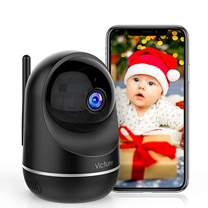 1080P FHD Baby Monitor with Motion Detection + 2-Way Audio