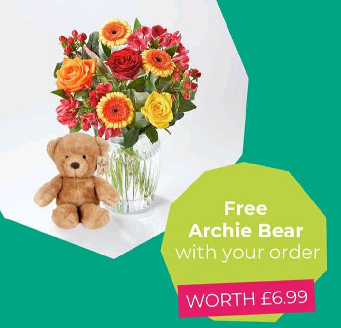 Free Archie Bear with Your Order