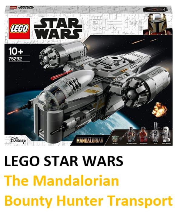 CHRISTMAS 2020 TOP TOY - LEGO Star Wars the Mandalorian Bounty Hunter Transport
