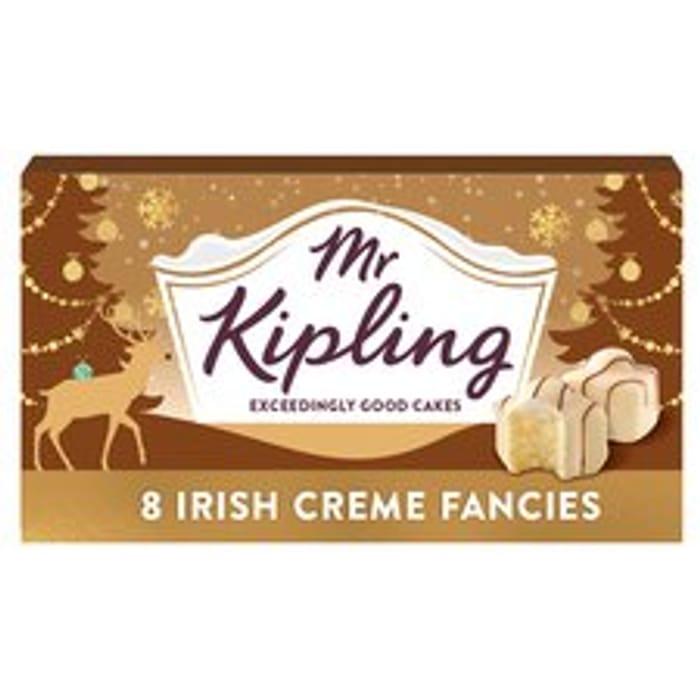 Mr Kipling Irish Creme Fancies 8 Pack