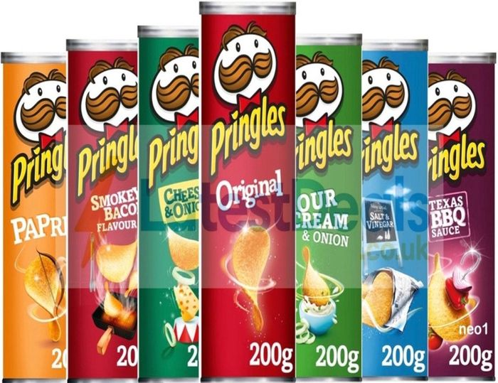 Pringles All Flavours Half Price - Tesco Clubcard Price