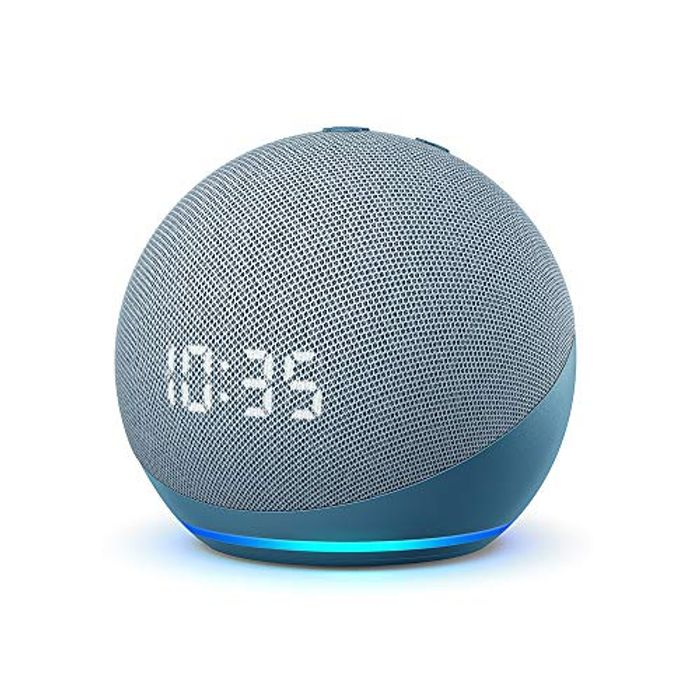 All-New Echo Dot (4th Generation) | Smart Speaker with Clock and Alexa