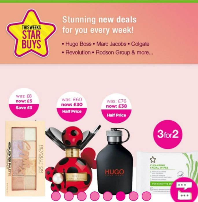 Star Buy Weeklies  1/2 PRICE on SELECTED FRAGRANCE and BEAUTY
