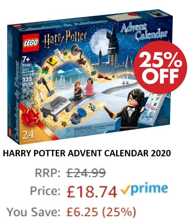 LEGO HARRY POTTER - ADVENT CALENDAR 2020 - (75981)