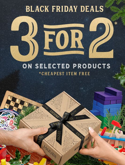 3 for 2 on Selected Items