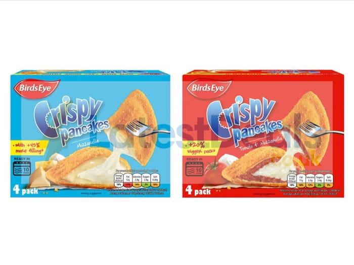 Birds Eye Crispy Pancakes Mozzarella / Tomato and Mozzarella