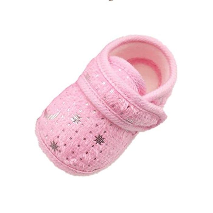 Saingace Starry Sky Printed Toddler Anti-Slip Soft Baby Shoes