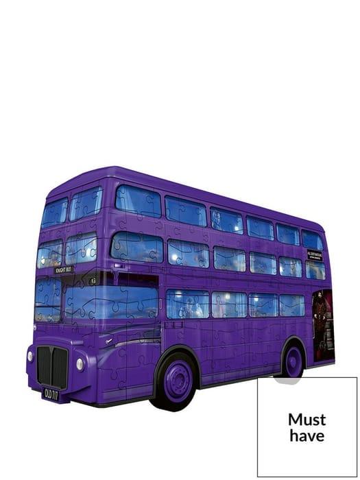 *SAVE £5* Ravensburger Harry Potter Knight Bus 216-Piece 3D Jigsaw Puzzle