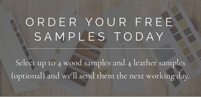4 Free Wood & Leather Samples.