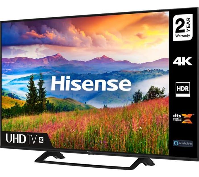"""*SAVE £50* HISENSE 65"""" Smart 4K Ultra HD HDR LED TV"""