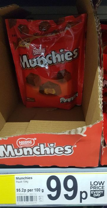 Munchies Chocolate Sharing Bag 104g