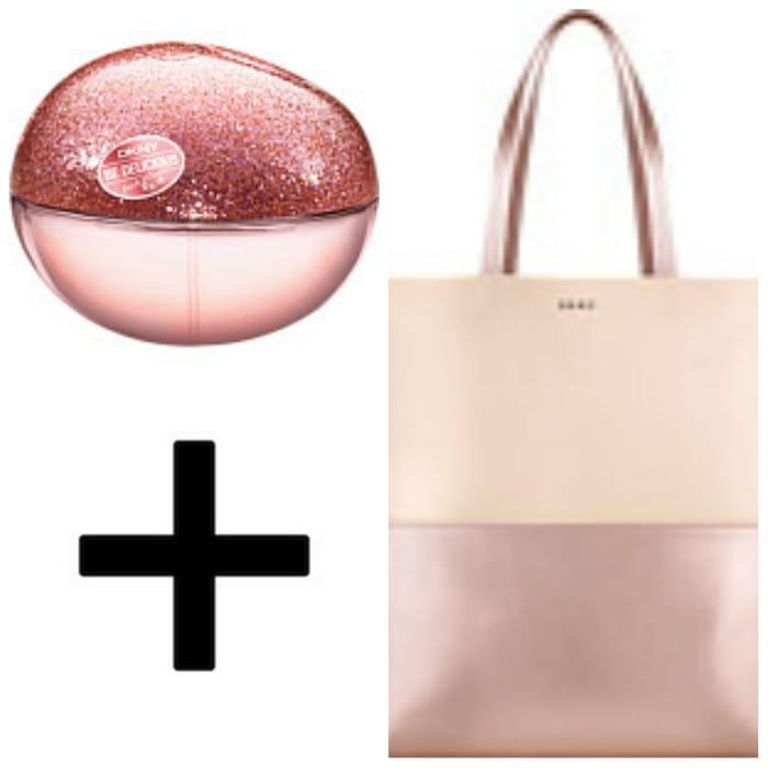 DKNY Be Delicious Fresh Blossom Sparkling Apple Eau De Parfum Spray 50ml & Bag*