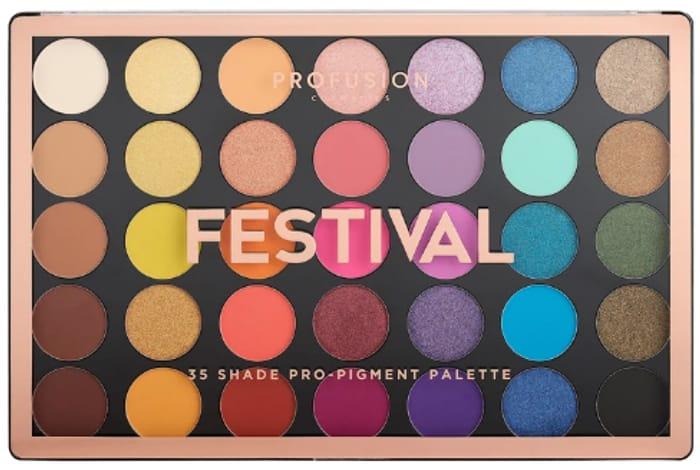 Profusion Festival 35 Shades Palette