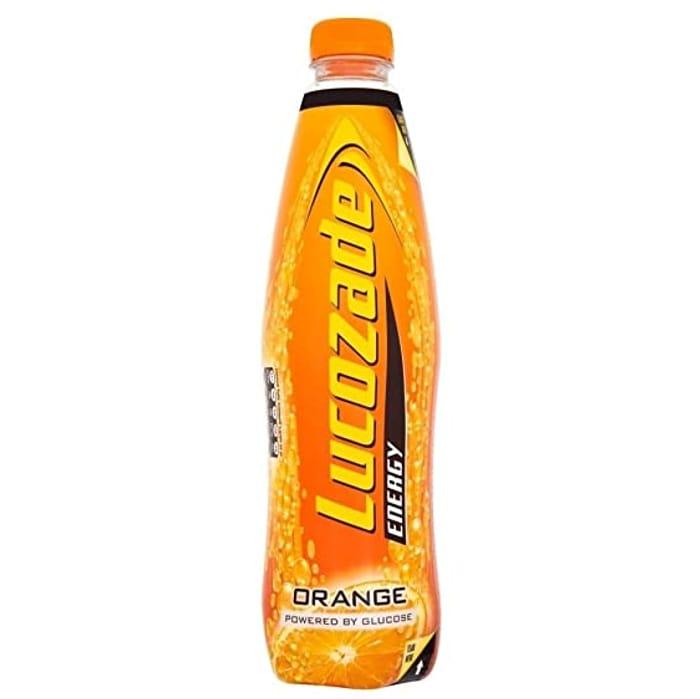 Lucozade Energy Orange 1 Litre Bottle - Only £0.79!