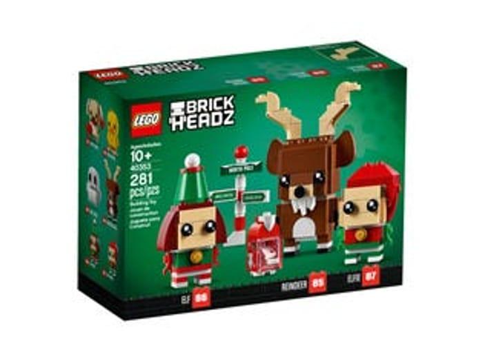 LEGO BrickHeadz Reindeer, Elf and Elfie - Only £10!