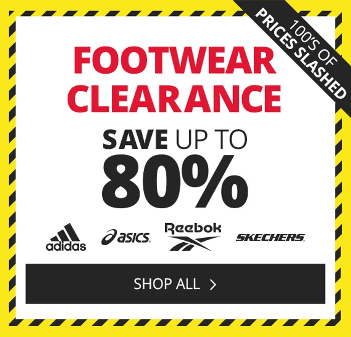 MandM Direct - Up To 80% Off Footwear Clearance Inc adidas, Asics & Reebok