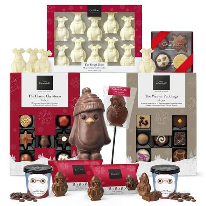 Hotel Chocolat Merry Christmas Everyone Collection - £35 Delivered With Code