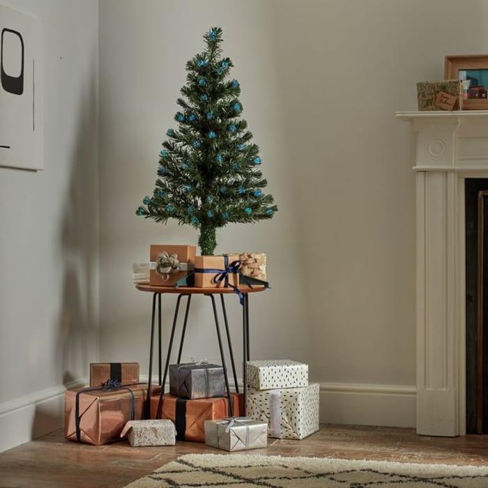 Argos Home 3ft Fibre Optic Christmas Tree - Green