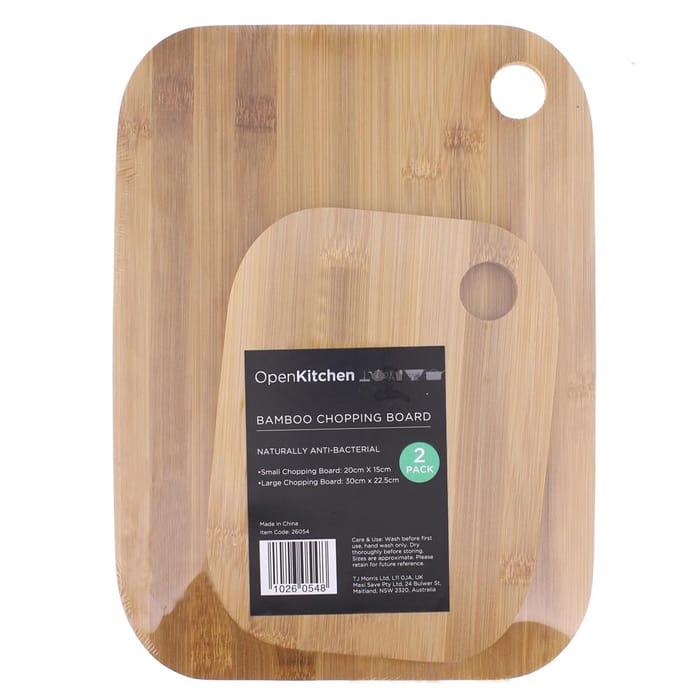 Bamboo Chopping Board 2-Pack (3 SETS)
