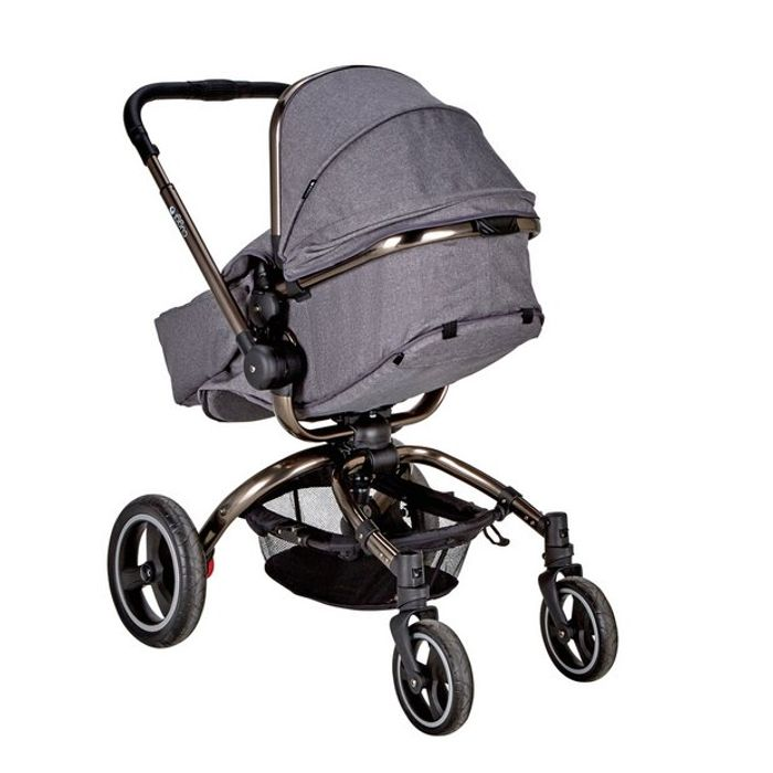 Cuggl Poplar Pushchair - Graphite Click & Collect