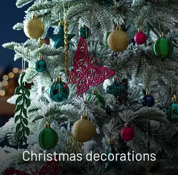 Argos - Up To 25% Off Christmas Trees, Lights & Decorations