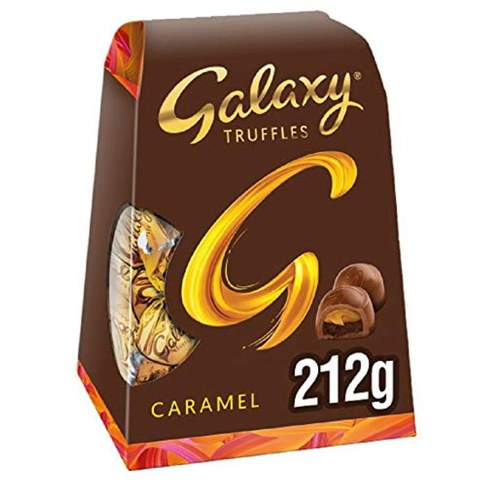 Galaxy Chocolate Truffles with Caramel, Christmas Gifts, 212 G