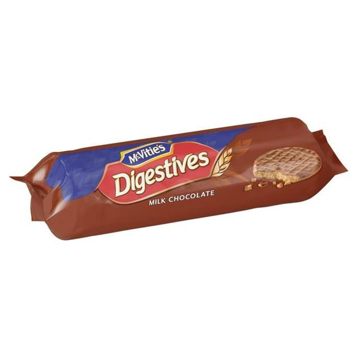 McVitie's Digestives Milk Chocolate Biscuits 433g