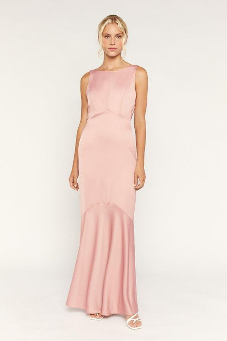 High Neck Occasion/bridesmaid Dress