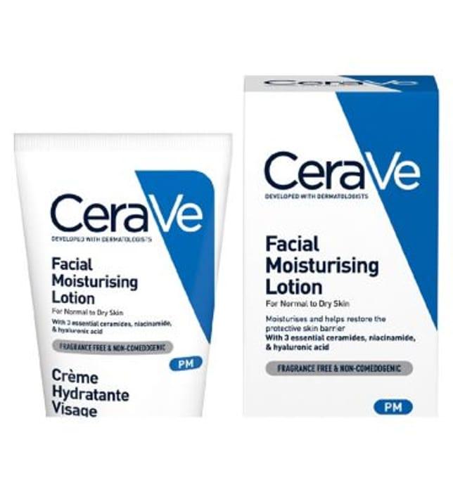 CeraVe PM Facial Moisturising Lotion 52ml