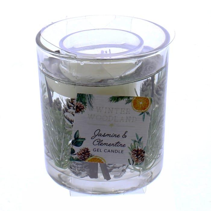 Winter Wonderland Jasmine & Clementine Gel Candle
