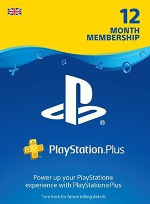 PlayStation Network Plus / PlayStation Now 12 Month Membership - £32.85