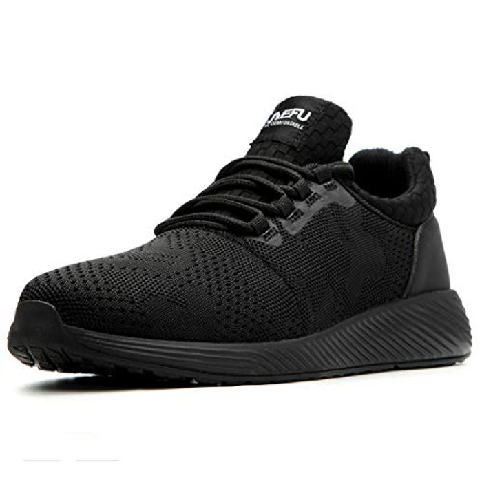 DEAL STACK - Lightweight Unisex Safety Shoes + 10% Coupon