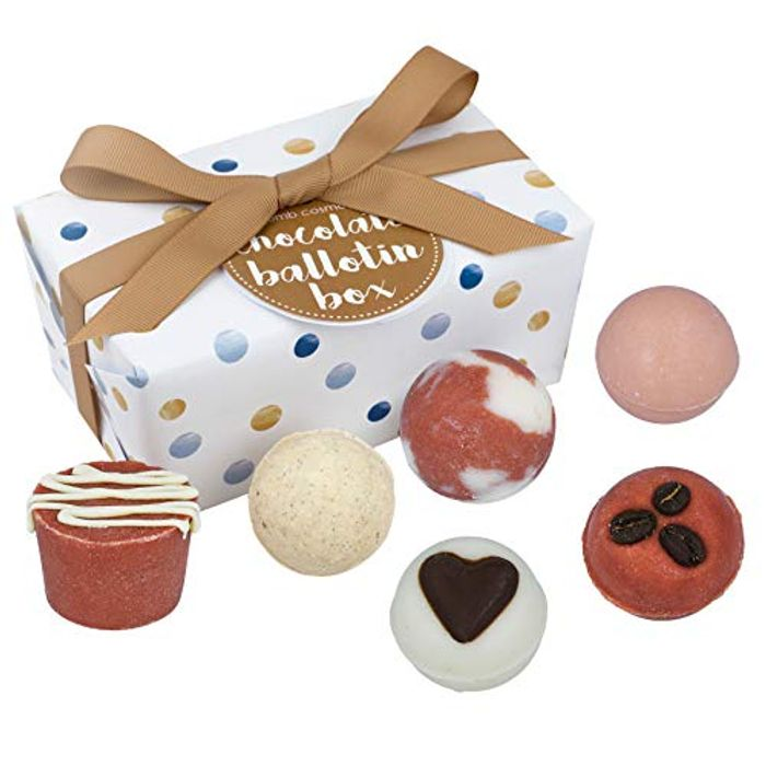 6Pcs Bomb Cosmetics Chocolate Handmade Bath Melts