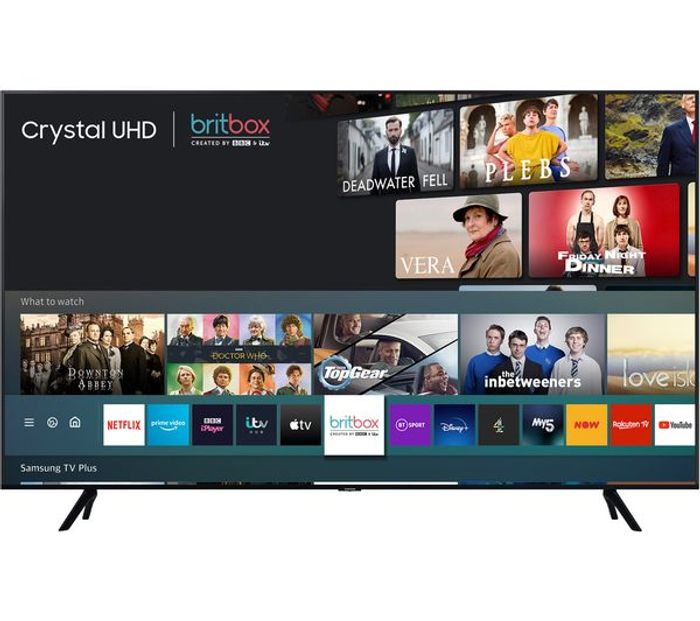 *Black Friday Deal* Samsung 65 Inch, Crystal View, 4K Ultra HD, HDR, Smart TV