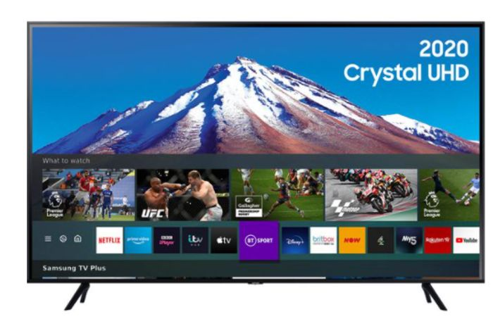 "Currys Black Friday - Samsung 50"" Smart 4K Crystal UHD LED TV - £349"