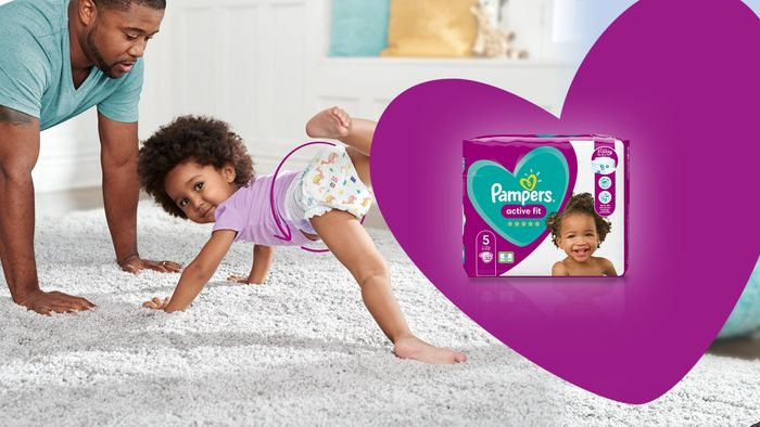Free Packs of Pampers Active Fit Taped Nappies - Pampers Squad Campaign