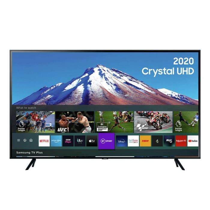 Samsung 55In UE55TU7020KXXU Smart 4K UHD HDR LED Freeview TV