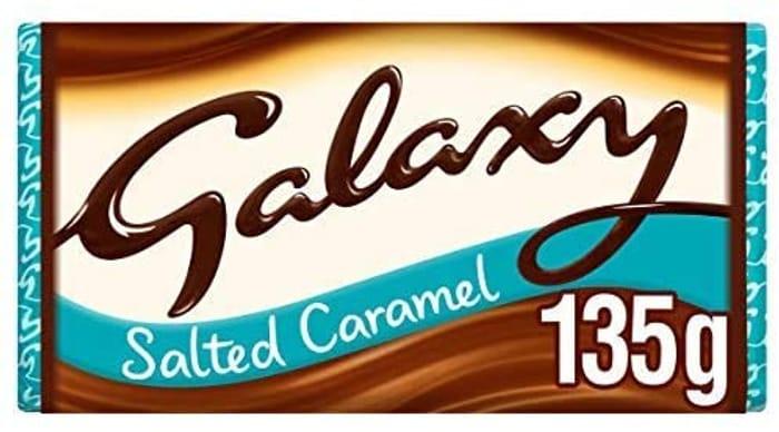 Galaxy Salted Caramel Chocolate Bar 135g
