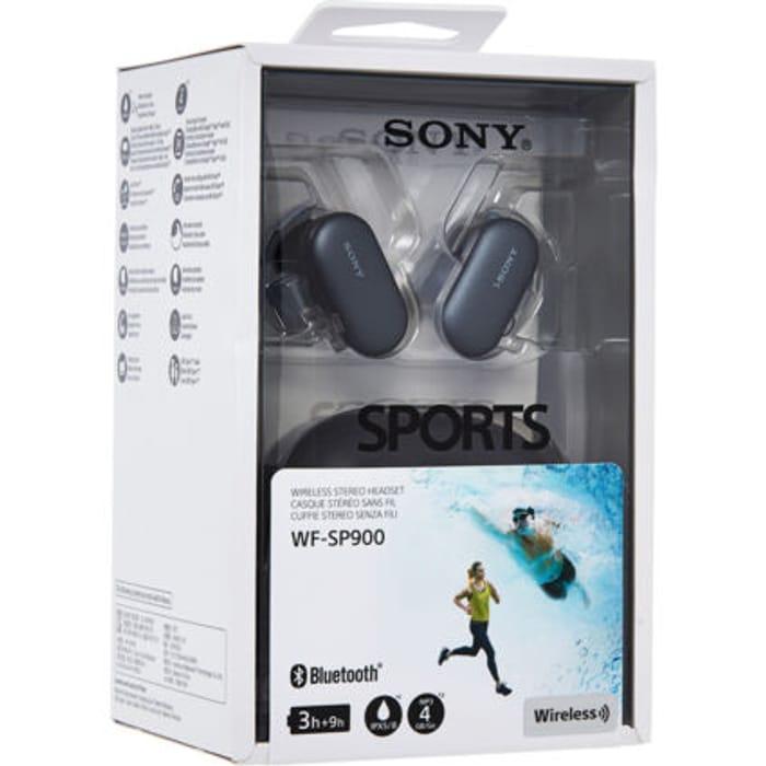 SONY Black Wireless Waterproof Ear Buds