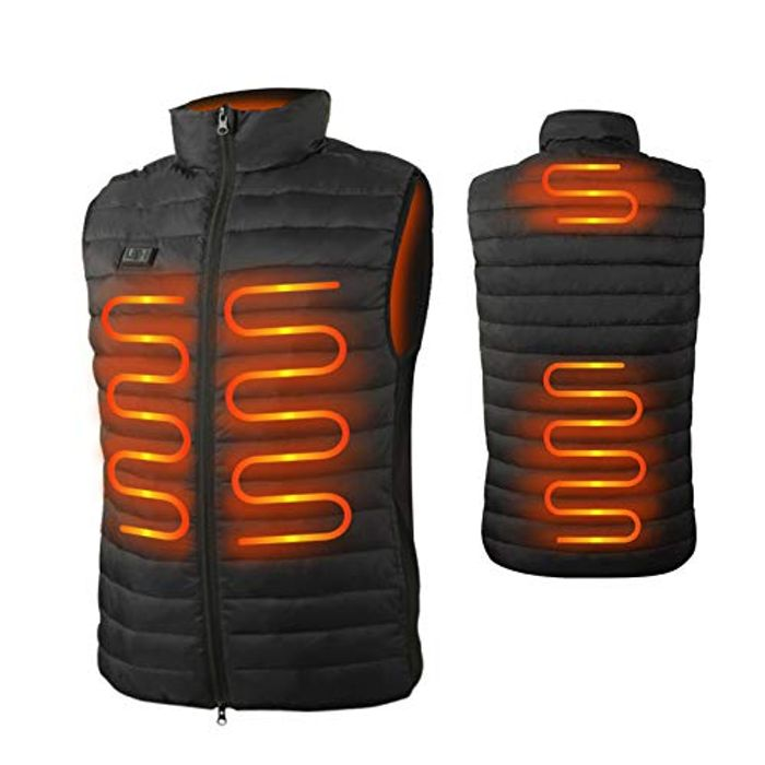 Deal Stack! Seenlast Electrix USB Heated Vest - Size XL