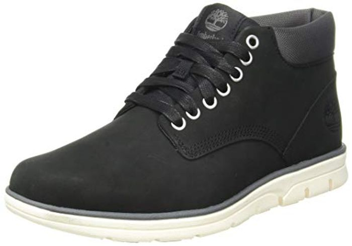58% off Timberland Men's Bradstreet Leather Sensorflex Chukka Boots (Today Only)