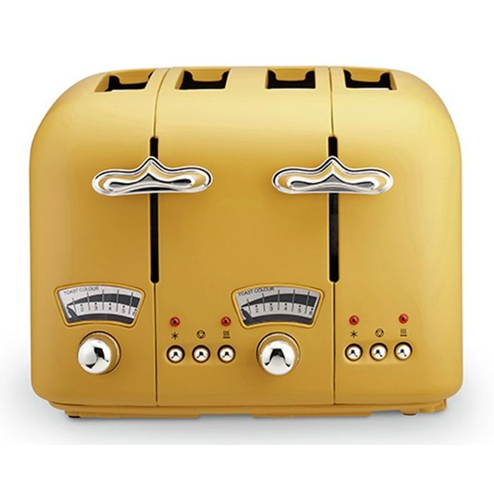 De'Longhi CT04.Y Argento Silva Toaster - Click & Collect matching Kettles £29.99