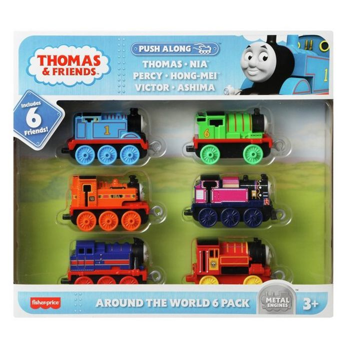 Thomas & Friends All around the World 6 Pack